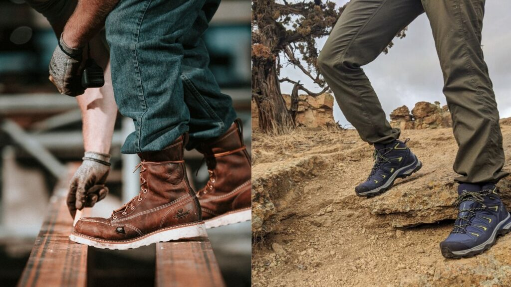 Are Work Boots Good for Hiking