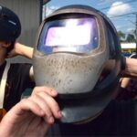 can you see out of a welding helmet